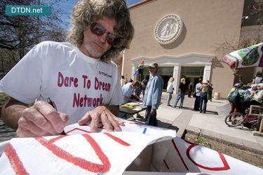 Dare To Dream Network supports Anti-war Activisun Rally and March in Santa Fe, New Mexico